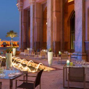 Sayad Seafood Restaurant Emirates Palace Abu Dhabi Abu Dhabi Honeymoons