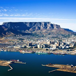 South Africa Honeymoon Packages Victoria And Alfred Hotel, Cape Town Cape Town Table Mountain Aerial View