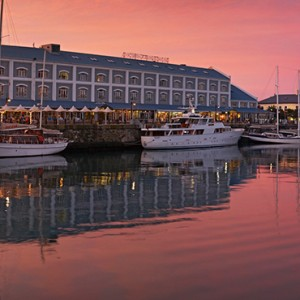 South Africa Honeymoon Packages Victoria And Alfred Hotel, Cape Town Hotel Exterior At Sunset