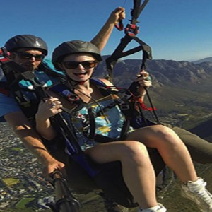 South Africa Honeymoon Packages Victoria And Alfred Hotel, Cape Town Paragliding
