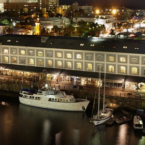 South Africa Honeymoon Packages Victoria And Alfred Hotel, Cape Town Hotel Aerial View At Night