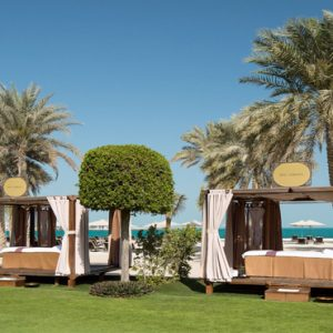 Spa Cabana Emirates Palace Abu Dhabi Abu Dhabi Honeymoons