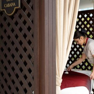 Spa Cabana Jumeirah Etihad Towers Abu Dhabi Honeymoons