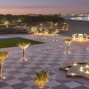 Terrace Area At Night Emirates Palace Abu Dhabi Abu Dhabi Honeymoons