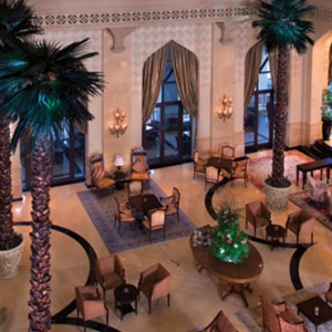 Abu Dhabi Honeymoon Packages Shangri La Hotel Qaryat Al Beri Lobby Lounge