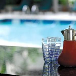 Abu Dhabi Honeymoon Packages Shangri La Hotel Qaryat Al Beri Pool Bar