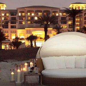 Abu Dhabi Honeymoon Packages St Regis Saadiyat Island Resort Abu Dhabi Beach At Night