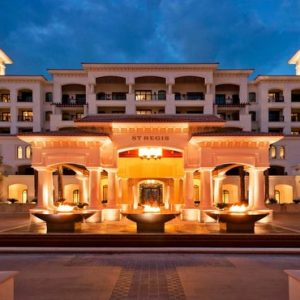 Abu Dhabi Honeymoon Packages St Regis Saadiyat Island Resort Abu Dhabi Exterior At Night
