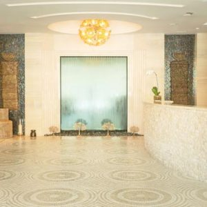 Abu Dhabi Honeymoon Packages St Regis Saadiyat Island Resort Abu Dhabi Iridium Spa Reception