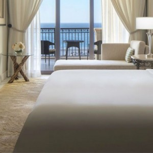 Abu Dhabi Honeymoon Packages St Regis Saadiyat Island Resort Abu Dhabi Premium Sea View Room