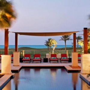 Abu Dhabi Honeymoon Packages St Regis Saadiyat Island Resort Abu Dhabi Adult Pool