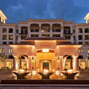 Abu Dhabi Honeymoon Packages St Regis Saadiyat Island Resort Abu Dhabi Exterior