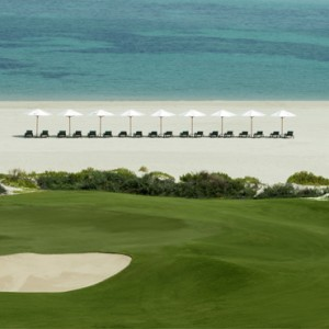 Abu Dhabi Honeymoon Packages St Regis Saadiyat Island Resort Abu Dhabi Golf