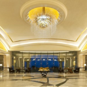 Abu Dhabi Honeymoon Packages St Regis Saadiyat Island Resort Abu Dhabi Lobby