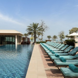 Abu Dhabi Honeymoon Packages St Regis Saadiyat Island Resort Abu Dhabi Pool