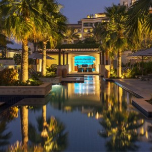 Abu Dhabi Honeymoon Packages St Regis Saadiyat Island Resort Abu Dhabi Pool 2