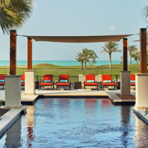 Abu Dhabi Honeymoon Packages St Regis Saadiyat Island Resort Abu Dhabi Pool 3