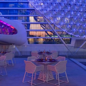 abu dhabi honeymoon packages - yas viceroy abu dhabi - dining