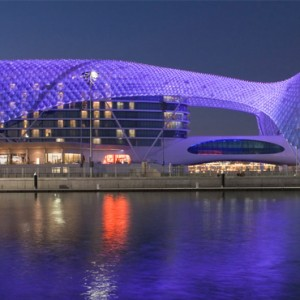 abu dhabi honeymoon packages - yas viceroy abu dhabi - exterior