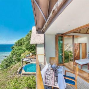 Fiji Honeymoon Packages Royal Davui Island Resort Fiji Davui Pool Suite East 4