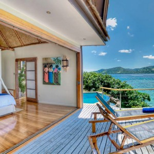 Fiji Honeymoon Packages Royal Davui Island Resort Fiji Davui Pool Suite East 7