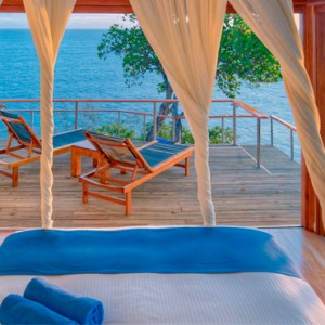 Fiji Honeymoon Packages Royal Davui Island Resort Fiji Davui Pool Suite West 5