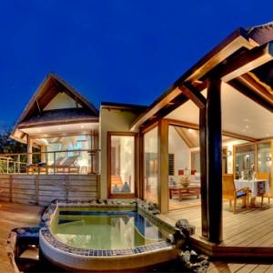Fiji Honeymoon Packages Royal Davui Island Resort Fiji Davui Pool Suite West 6
