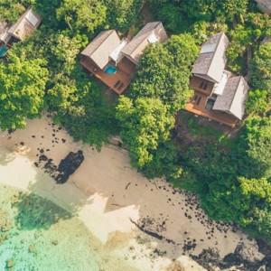 Fiji Honeymoon Packages Royal Davui Island Resort Fiji Sunset Pool Suite