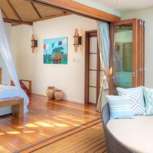 Fiji Honeymoon Packages Royal Davui Island Resort Fiji Sunset Pool Suite 2