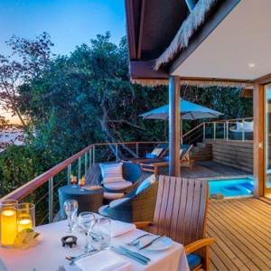 Fiji Honeymoon Packages Royal Davui Island Resort Fiji Sunset Pool Suite 5