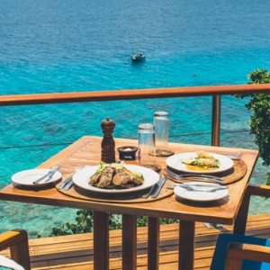 Fiji Honeymoon Packages Royal Davui Island Resort Fiji Dining