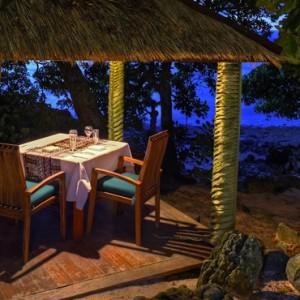 Fiji Honeymoon Packages Royal Davui Island Resort Fiji Dining 5