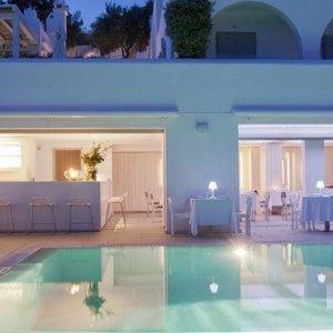 Greece Honeymoon Packages Grace Mykonos Dining 2