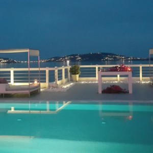 Greece Honeymoon Packages Grace Mykonos Pool 2