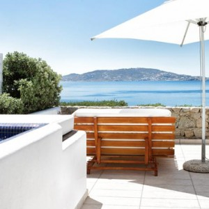 Greece Honeymoon Packages Grace Mykonos Pool Villa