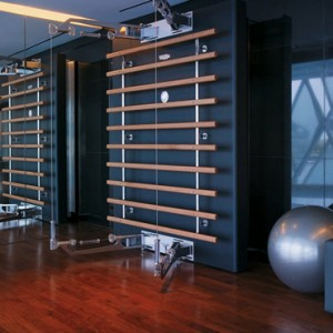 abu dhabi honeymoon packages - yas viceroy abu dhabi - gym