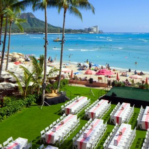 Hawaii Honeymoon Packages Royal Hawaiian Resort Aha Aina Luau