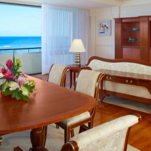 Hawaii Honeymoon Packages Royal Hawaiian Resort Ali I Suite