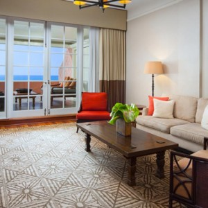 Hawaii Honeymoon Packages Royal Hawaiian Resort King Kamehameha Suite 2