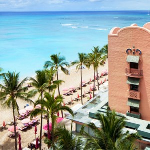 Hawaii Honeymoon Packages Royal Hawaiian Resort King Kamehameha Suite 5