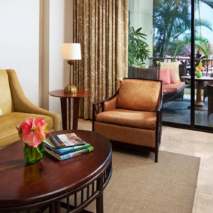 Hawaii Honeymoon Packages Royal Hawaiian Resort Mailani Tower Loft Suite 4