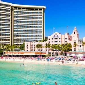 Hawaii Honeymoon Packages Royal Hawaiian Resort Beach 2