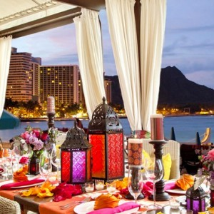 Hawaii Honeymoon Packages Royal Hawaiian Resort Dining 6