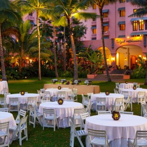 Hawaii Honeymoon Packages Royal Hawaiian Resort Dining 7