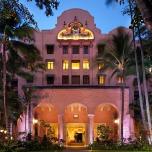 Hawaii Honeymoon Packages Royal Hawaiian Resort Exterior
