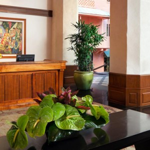 Hawaii Honeymoon Packages Royal Hawaiian Resort Lobby 2