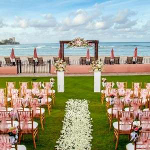 Hawaii Honeymoon Packages Royal Hawaiian Resort Wedding