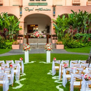 Hawaii Honeymoon Packages Royal Hawaiian Resort Wedding 2