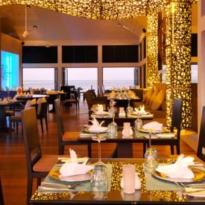 Maldives Honeymoon Packages Angsana Velavaru Azzurro Restaurant And Bar