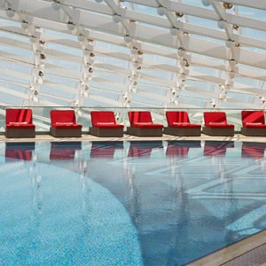 abu dhabi honeymoon packages - yas viceroy abu dhabi - pool